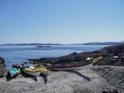 North Wales Sea Kayaking Courses - Specialist Sea Kayaking Anglesey, North Wales image from Canada Vancouver 2007