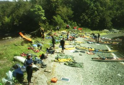 North Wales Sea Kayaking Courses - Specialist Sea Kayaking Anglesey, North Wales image from Chile Patagonia 2004
